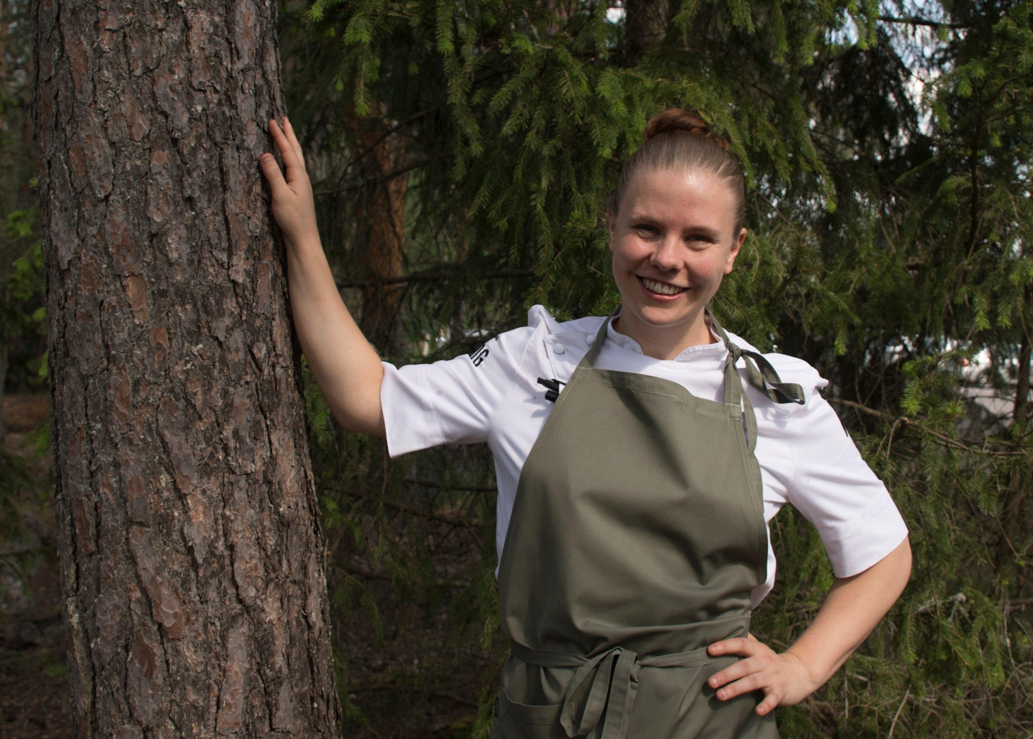 Sigtunahöjden kock Sofie Lidén