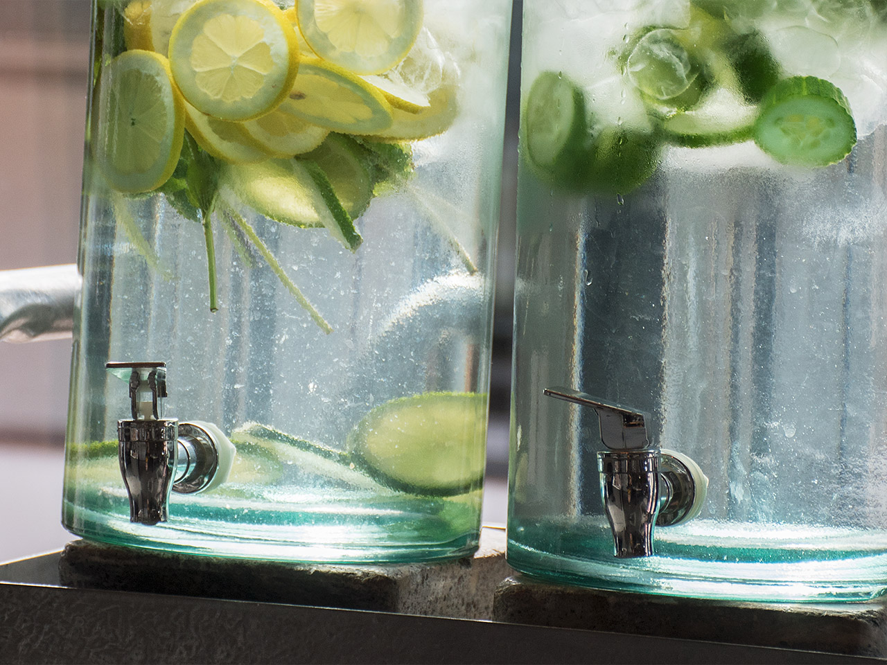 smaksatt vatten